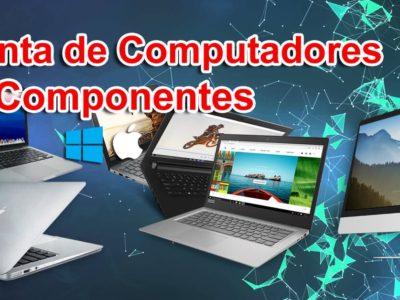 Venta de computadores, portátiles y accesorios