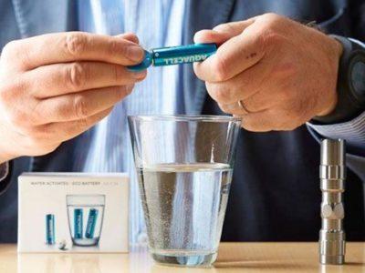 AquaCell, las pilas ecológicas que se cargan con agua