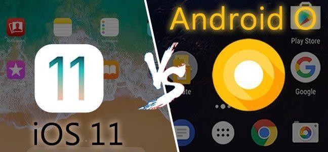 iOS 11 vs. Android Oreo: ¿Cuál es mejor sistema operativo?