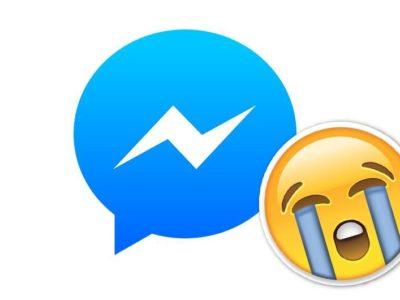 Adiós a los emojis de Facebook Messenger