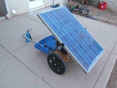 Generador solar móvil: te enseñamos a fabricarlo