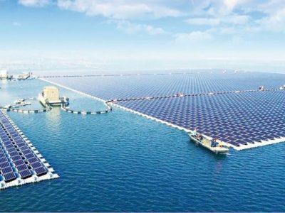 Plantas solares flotantes: una solución cada vez más extendida
