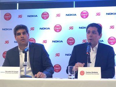 Claro y Nokia prueban 5G en Colombia