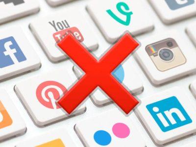 Cómo borrar tu cuenta de las redes sociales: Facebook, Instagram, Twitter…