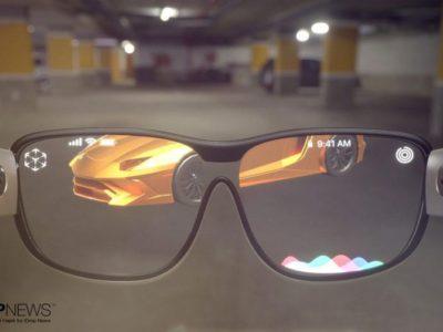 Así serían las gafas de realidad aumentada de Apple