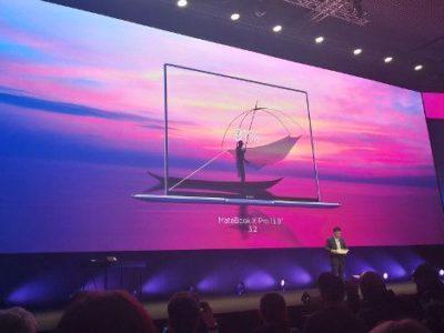 Así es el Huawei MateBook X Pro con su pantalla sin marcos