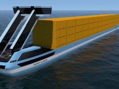 Los primeros buques de carga eléctricos y autónomos del mundo trabajarán en Bélgica y Holanda