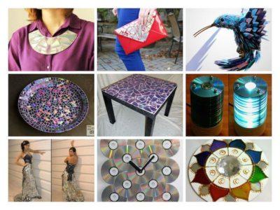 25 ideas para reciclar tus viejos CDs