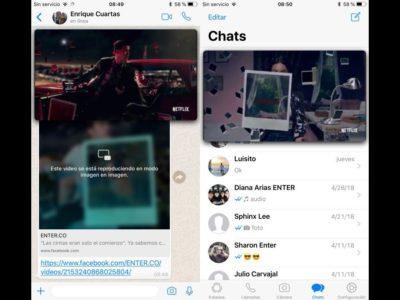 WhatsApp para iOS: mira videos de Facebook sin salir de la app