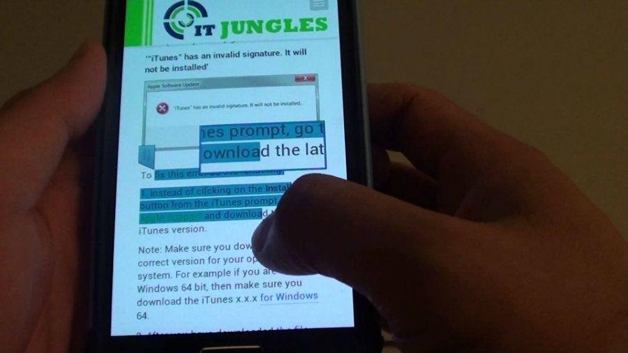 Guía para copiar texto en un Samsung Galaxy desde apps como Instagram