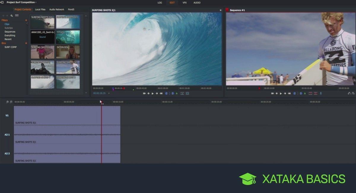 Nueve editores de vídeo gratis para usar en Windows