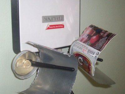 Tutorial: Cómo unas latas de aluminio pueden mejorar tu señal WiFi