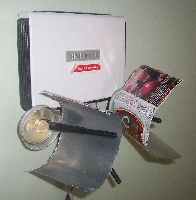 WiFi Latas aluminio