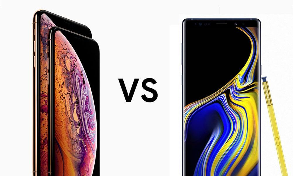 Samsung Galaxy Note 9 o iPhone XS Max, 5 motivos para comprar cada uno