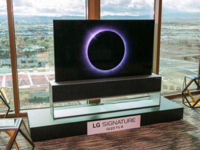 LG Signature OLED TV R: El primer TV OLED enrollable llega al mercado