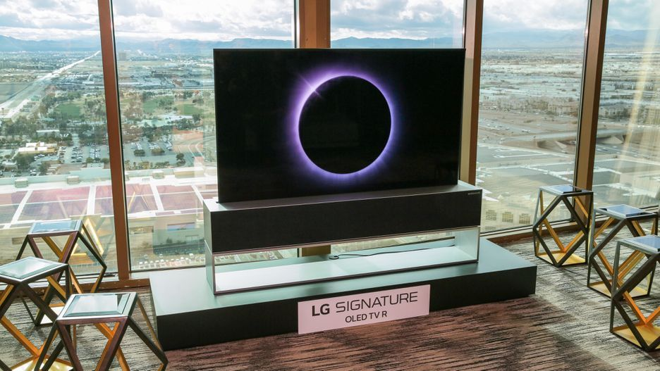 LG OLED TV Enrollable