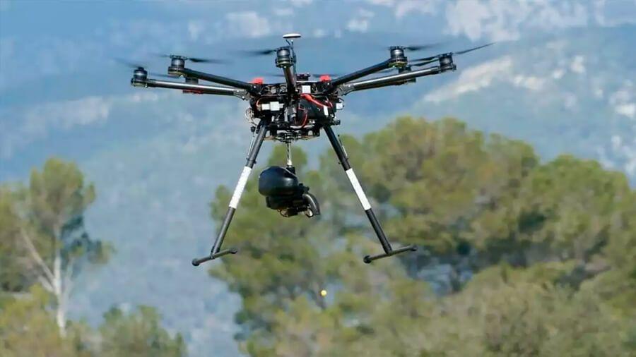 Dron ecológico