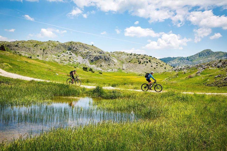 Sendero bicicletas