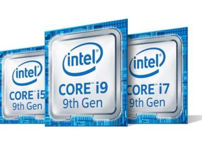 Intel vendería nuevos procesadores de 9.ª generación de bajo consumo el 15 de mayo