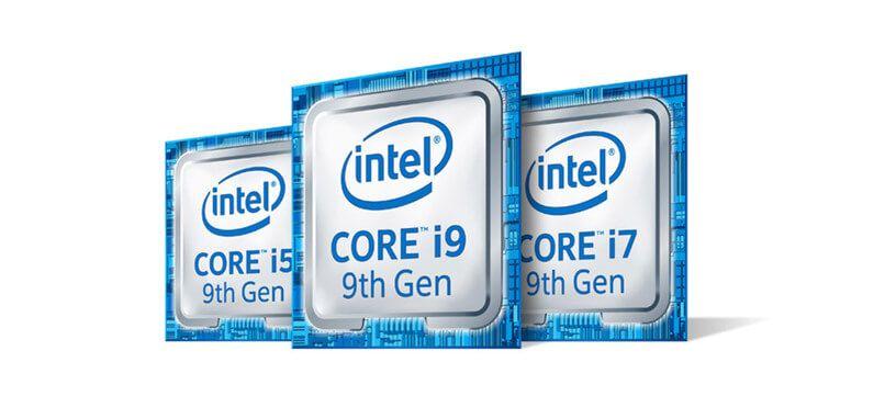 intel 9 generación