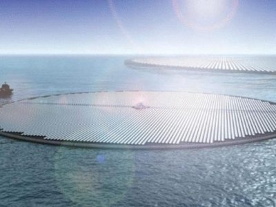 Holanda construirá la primera planta solar flotante del mundo sobre el mar