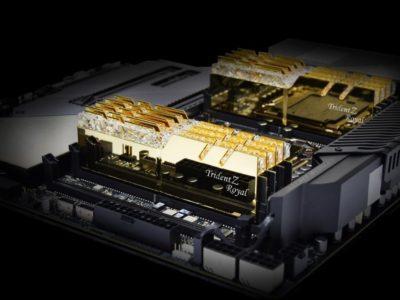 G.Skill lanza kits de memoria de 64GB DDR4-4300 CL19 y DDR4-4000 CL16
