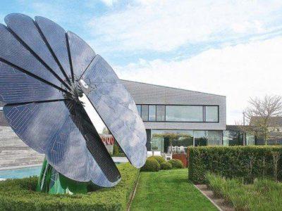 Smartflower POP +. Un girasol solar que genera y almacena toda la electricidad que necesitas