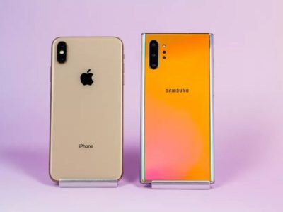 Comparativa: iPhone XS Max vs. Galaxy Note 10 Plus