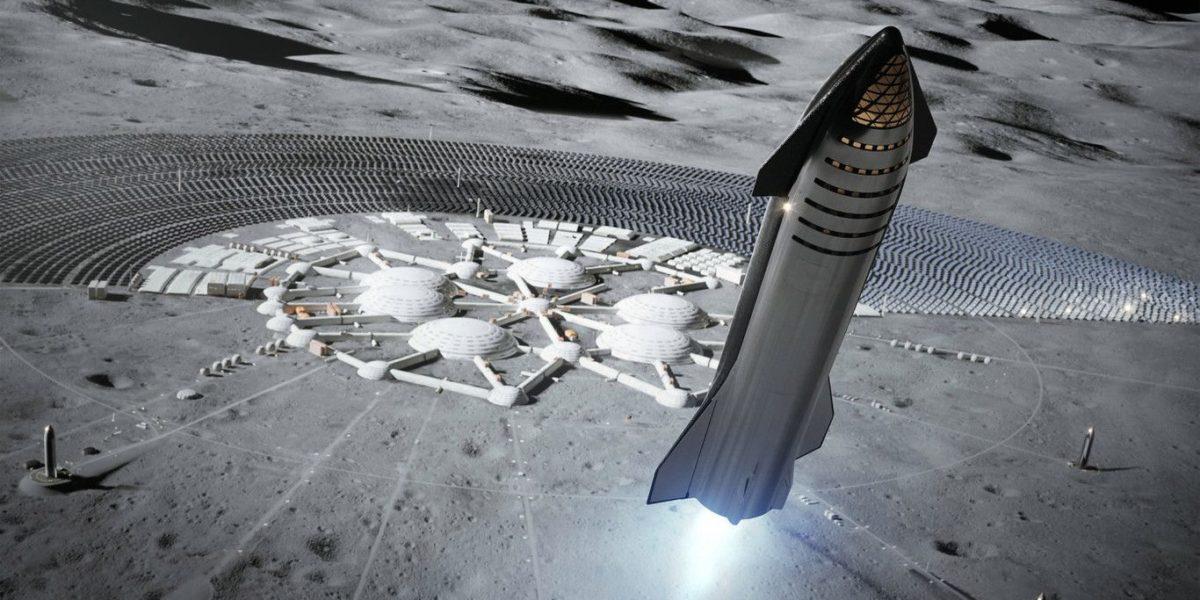 SpaceX piensa llegar a la luna antes del 2022 y enviar humanos en el 2024