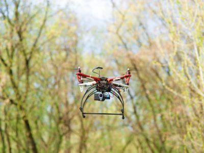 Estos drones son capaces de replantar hasta 25.000 árboles al día