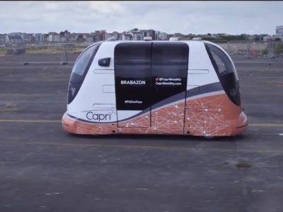 En Reino Unido empiezan las pruebas de cápsulas autónomas para transporte público