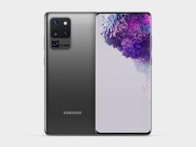Este es el diseño final del Samsung Galaxy S20 Ultra, según varias fuentes