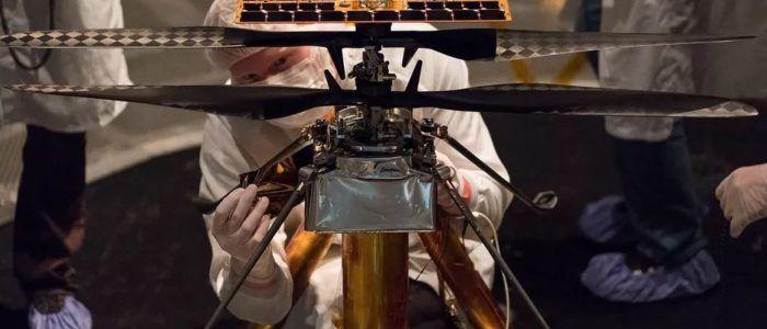 El audaz helicóptero de la NASA para Marte ya tiene nombre propio: Ingenuity