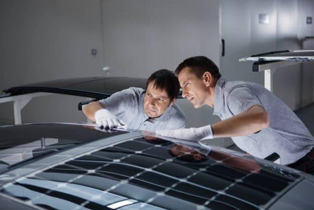 Techo solar en el vehículo