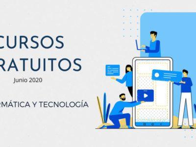 23 Cursos Gratuitos de Tecnología para comenzar en junio