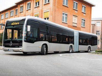 Mercedes-Benz presenta su primer autobús eléctrico con baterías de electrolito sólido