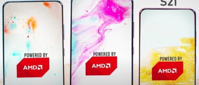 Los Samsung Galaxy S21 serían los primeros terminales en llegar con unos gráficos AMD Radeon