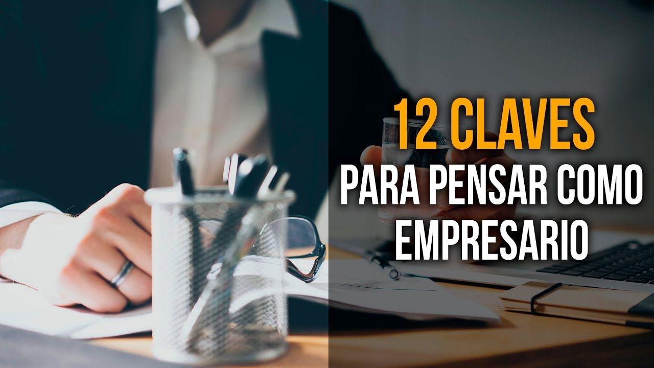 12 pensamientos empresario