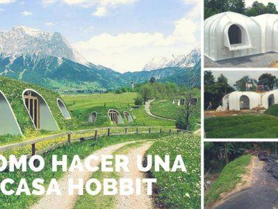 Cómo hacer una casa Hobbit con techo verde en sólo 3 días