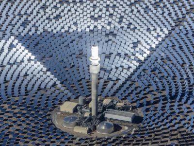 La planta solar que producirá tanta electricidad como una central nuclear en proyecto