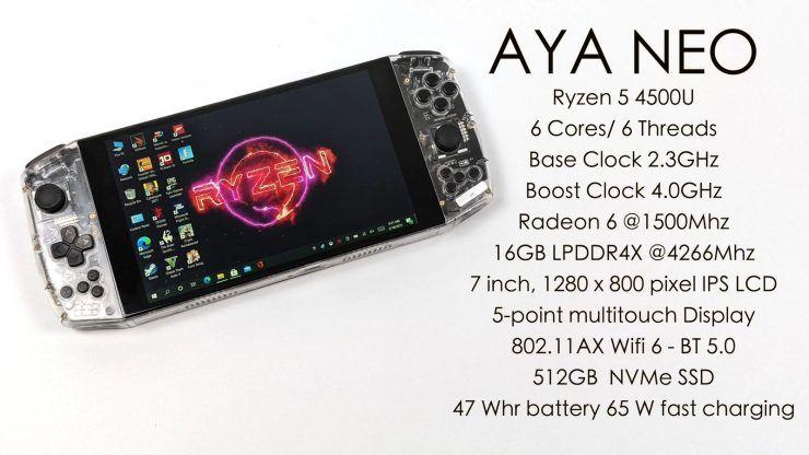 La consola portátil Aya Neo se deja ver moviendo el Crysis Remastered @ 42 FPS