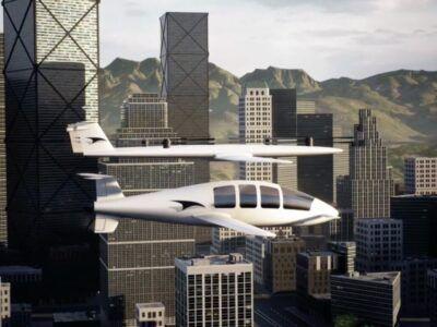 Este eVTOL tiene un sistema de elevación desmontable: se acopla y desacopla sólo para despegues y aterrizajes