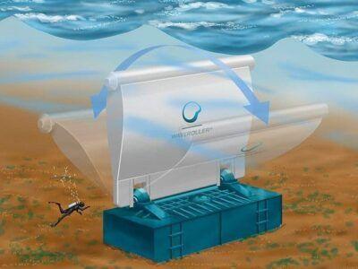Waveoller, convierte las olas del mar en energía eléctrica