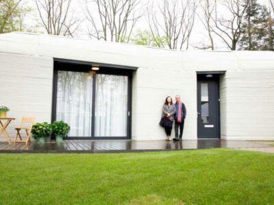 Una pareja holandesa se muda a la primera casa en Europa totalmente impresa en 3D
