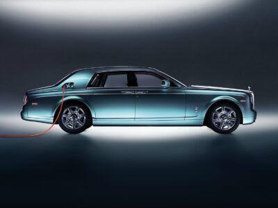 Rolls-Royce Silent Shadow, el vehículo eléctrico más lujoso de la historia en marcha