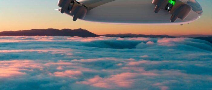 Este avión eléctrico eVTOL, sin alas, viaja a 300 km/h con 40 pasajeros en su interior