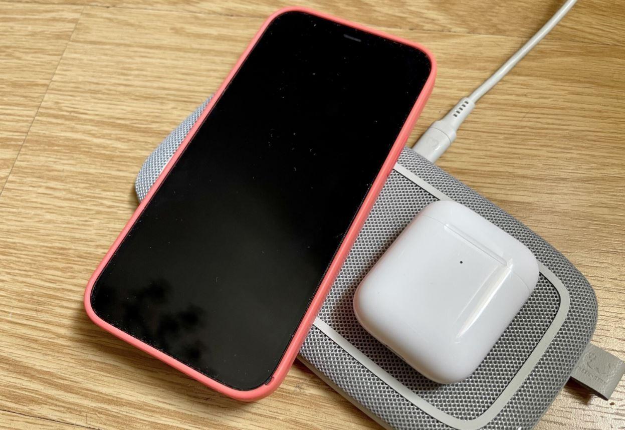 Base carga inalámbrica Iphone
