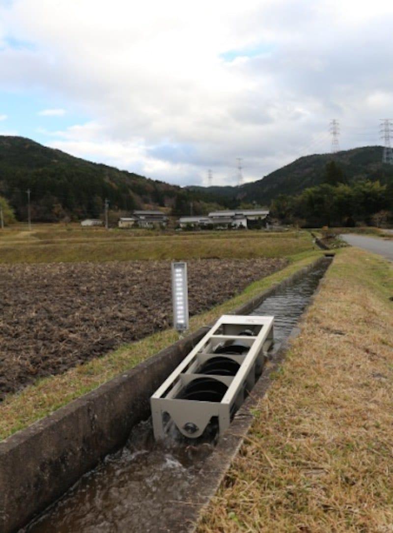 Generador energía hídrica