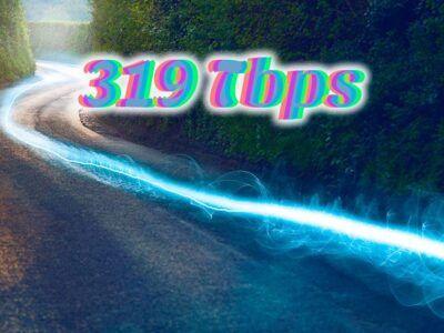 319 terabits por segundo: pulverizado el récord de velocidad de Internet