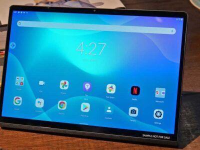 Lenovo presenta una nueva tableta que funciona como monitor externo
